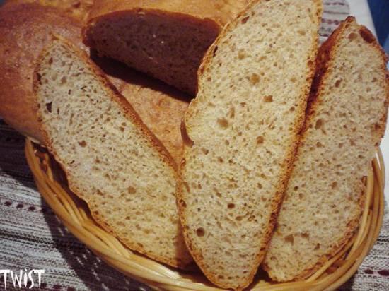 Цельнозерновой пшеничный хлеб