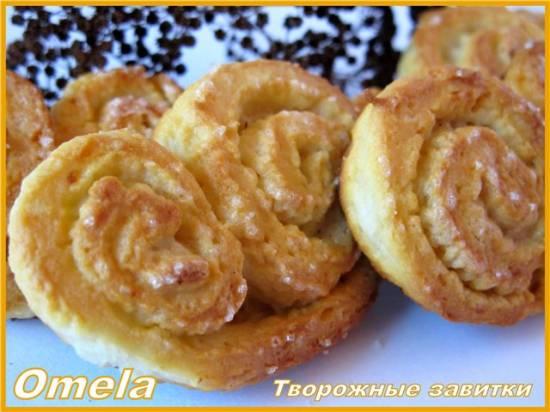Печенье Творожные завитки