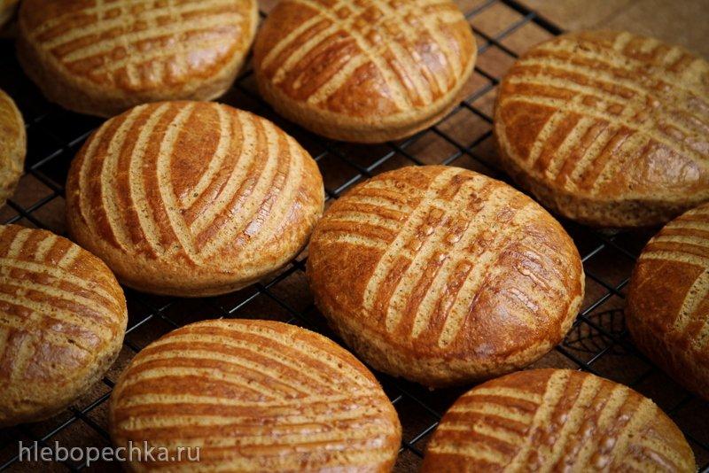 Имбирное печенье господина Z (рецепт Р. Бертинье, духовка)