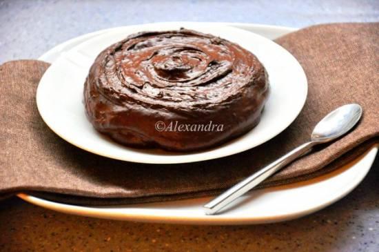 Шоколадный тортлетец с колой
