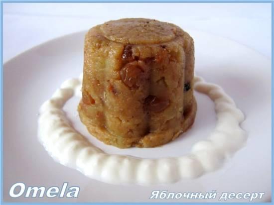 Яблочный десерт в медленноварке