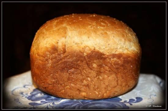 Пшеничный с кунжутом (хлебопечка)