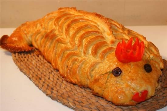 Кулебяка Золотая рыбка