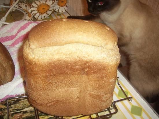 Ржаной хлеб на пиве и закваске