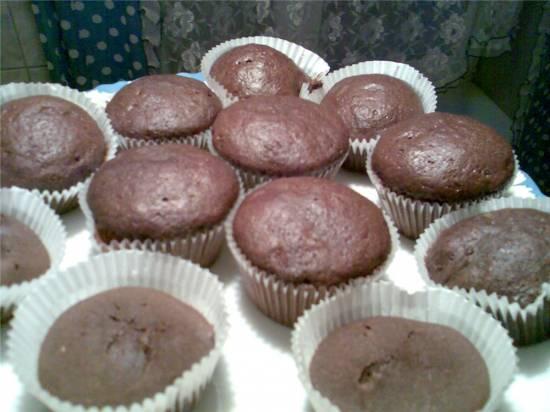 Португальские шоколадные пирожные