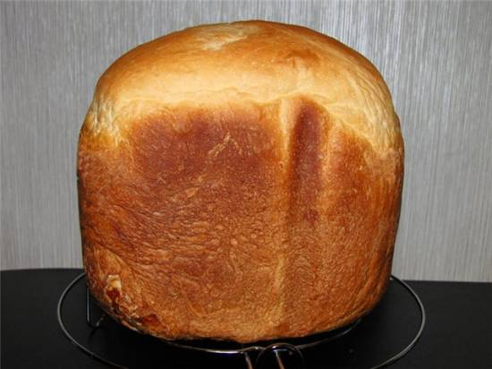Картофельный хлеб на заварном тесте в хлебопечке