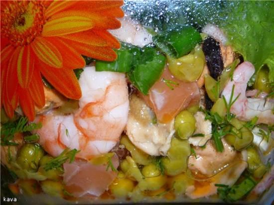 Салат рыбный Нежность