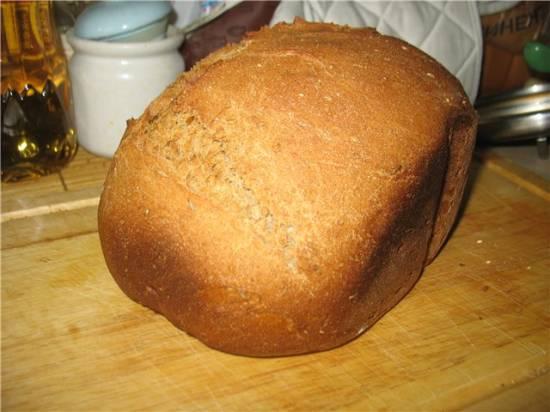 Panasonic 2501. Хлеб на квасе