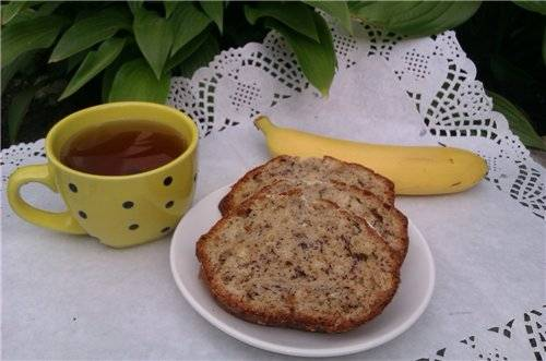 Кекс бананово-ореховыйКекс бананово-ореховый