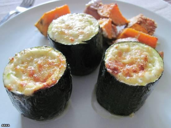 Цукини в сырной панировке