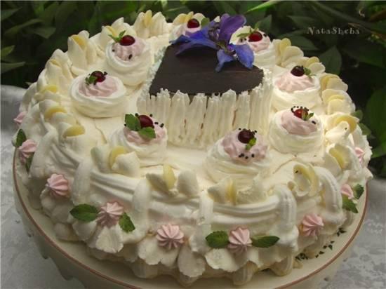 Торт-безе из кинофильма О бедном гусаре замолвите слово