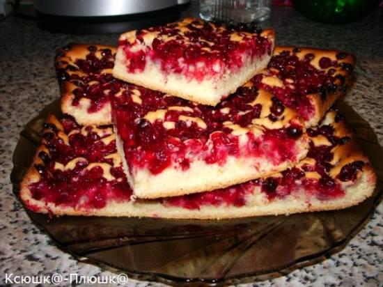 Пирог ягодный открытый Пирог ягодный открытый