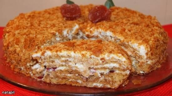 Торт медовый «Особенный»-2 (мастер-класс)