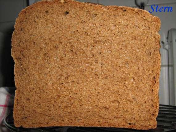"""Хлеб ржано-пшеничный цельнозерновой на опаре """"Ускоренный"""""""