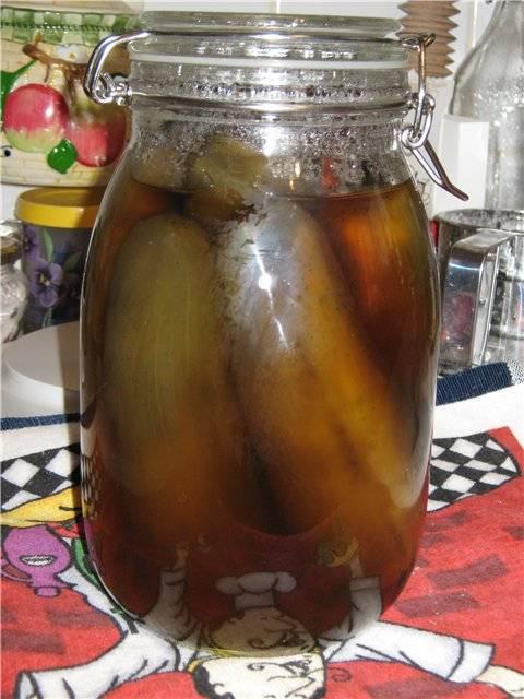 Баклажаны в сахарном сиропе с миндалём