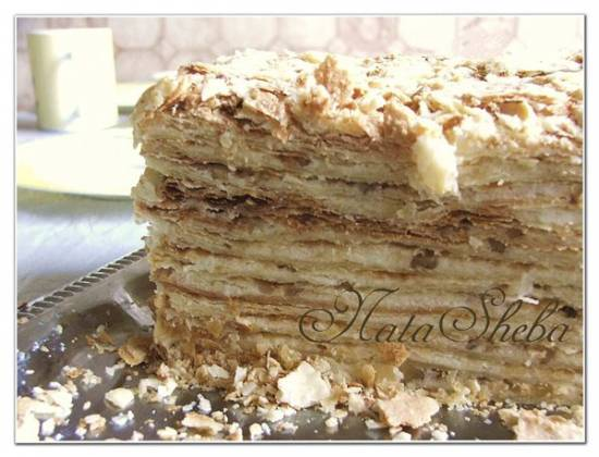 Торт Семейный Наполеон