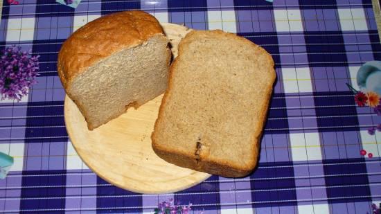 LG HB-2001BY. Пшенично-гречневый хлеб