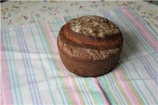 """Ржано-пшеничный хлеб (почти """"Украинский"""")"""