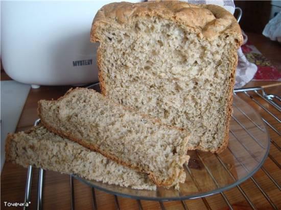 """Пшенично-ржаной хлеб """"Летний"""" в хлебопечке"""