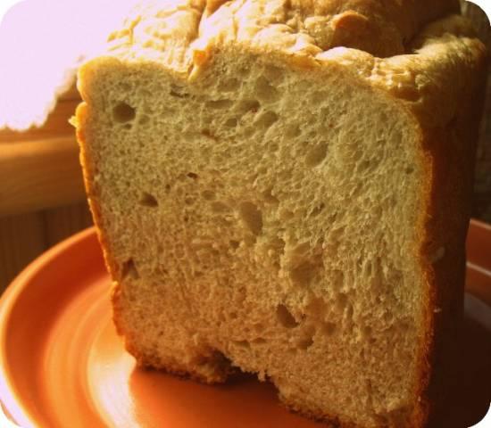 """Brand 3801. Хлеб с добавлением смеси """"Каштан-инжир-лесной орех""""на программе 3 - цельнозерновой или ржаной."""