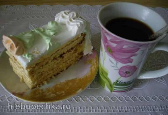 Цитрусовый торт (апельсин, лимон, лайм)