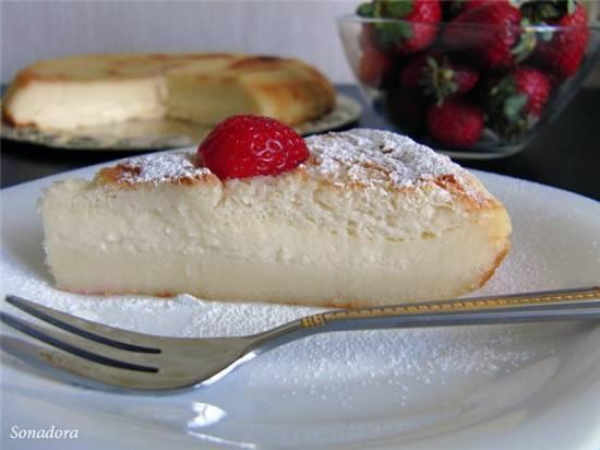 Пирог-пирожное