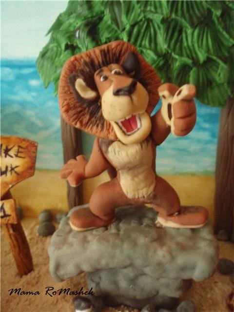 """Лепка героев мультфильма """"Мадагаскар"""" (мастер класс) Лепка героев мультфильма """"Мадагаскар"""" (мастер класс)"""