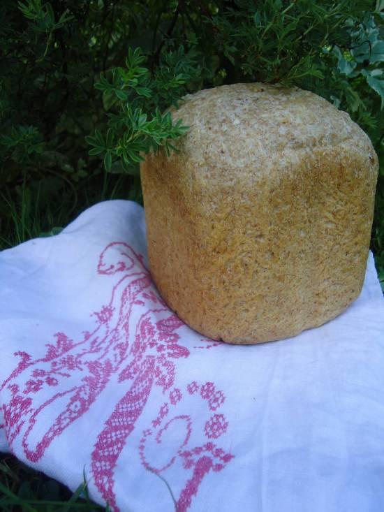 Scarlett SC-400. Пшеничный многозерновой хлеб с отрубями