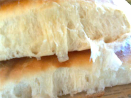 Венский хлеб (Pain viennois) по Ришару Бертине (в духовке)