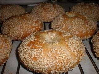 Еврейские пасхальные булочки из мацовой муки
