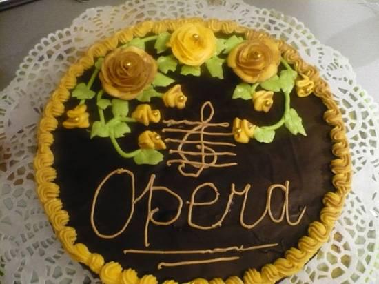 """Торт """"Опера"""" (а-ля французский рецепт)"""