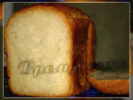 Французский хлеб на газированной воде в хлебопечке Французский хлеб на газированной воде в хлебопечке