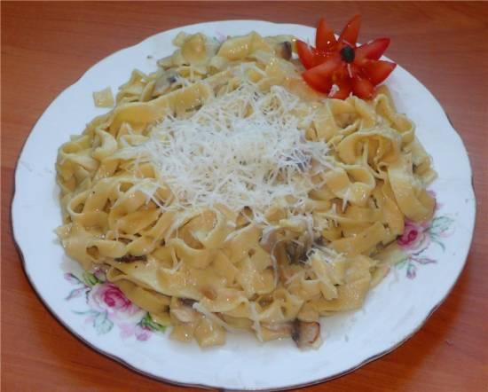 Тальятелле итальянские