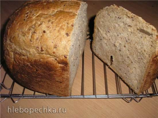 Хлеб со смесью 8 злаков в хлебопечке
