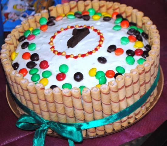 Торт Нарядный (без хлопот)