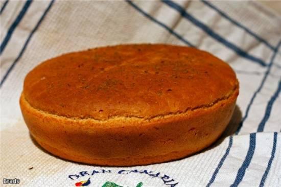 Гороховый хлеб (духовка)