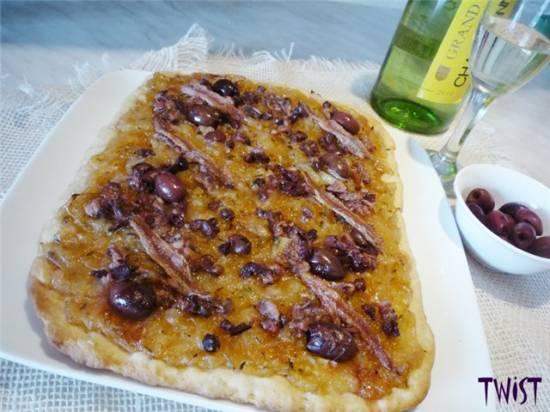 Писсаладьер (альтернатива пицце)