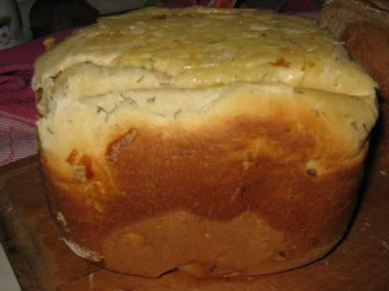 Moulinex. Чесночный хлеб