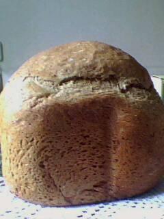 Пшенично-ржаной хлеб с льняной мукой, отрубями и сушеным укропом