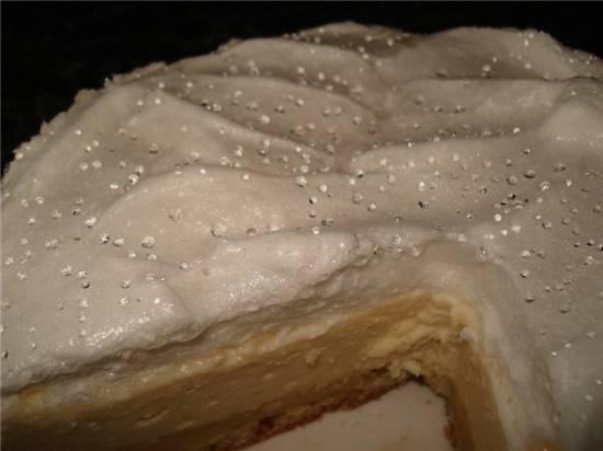 Пирог творожный с безе Слезы ангела ( мультиварка Brand 37501)
