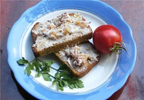Бутерброд с салом - 2
