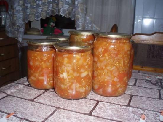 Приправа из помидор и лука