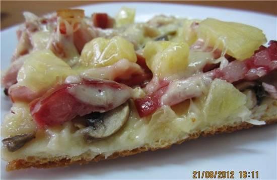 Пицца Багамы