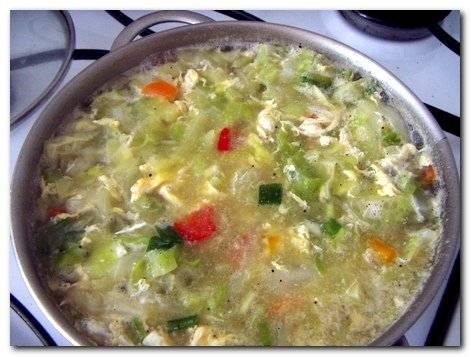 Овощной нутовый суп с телятиной
