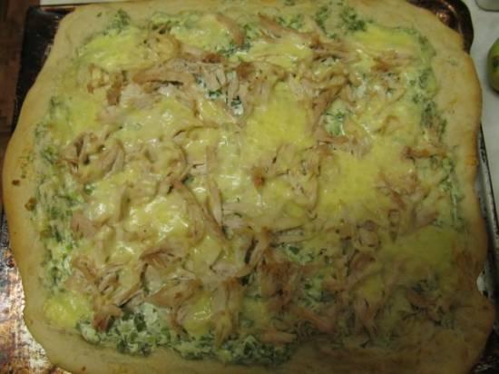 Деревенская пицца Деревенская пицца