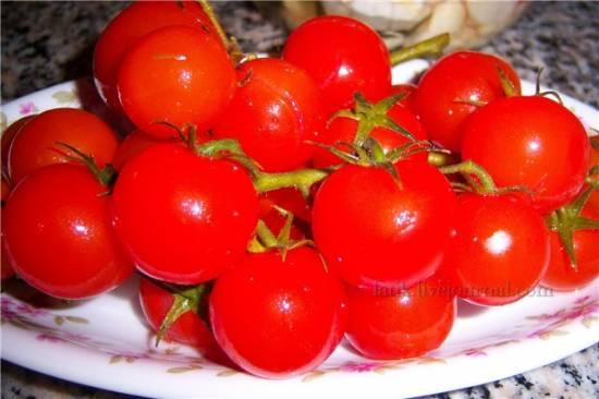 Солёные помидоры шерри
