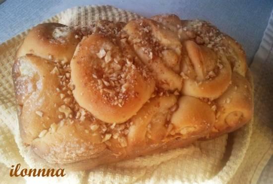 Хлеб ватрушечный или плюшки-ватрушки в хлебопечке и  в мультиварке Panasonic