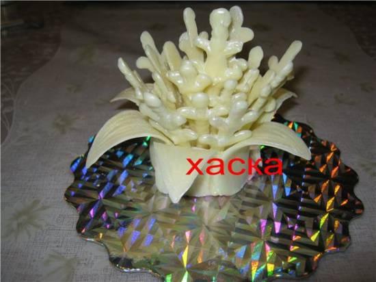 Кораллы из шоколада (мастер-класс)