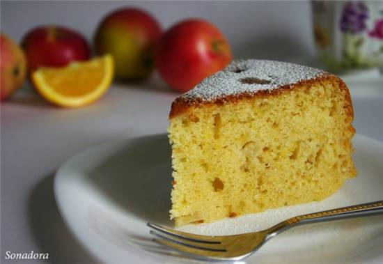 Флорентийский яблочный пирог