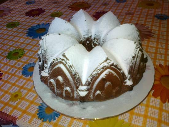 Кекс шоколадно-лимонный
